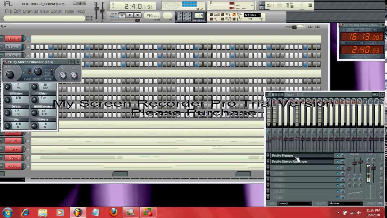 BEAT HOGG - Hip Hop - fruity loops beat by Charlie Mac