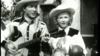 Miguelito DALE EVANS & ROY ROGERS Home In Oklahoma (1946) SONS OF THE PIONEERS