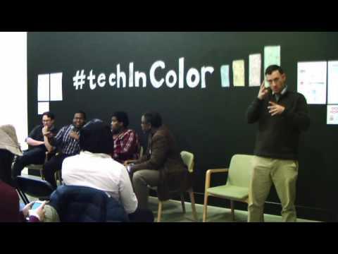 #techInColor Success Hacks - Panel #1