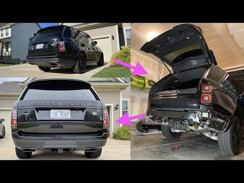 How to Install Factory Tow Hitch on (2013-2021) Range Rover L405 Full Size