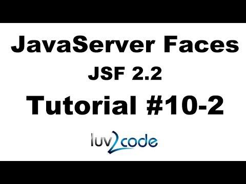 jsf-tutorial-#10-2---java-server-faces-tutorial-(jsf-2.2)---jsf-hello-world---part-2