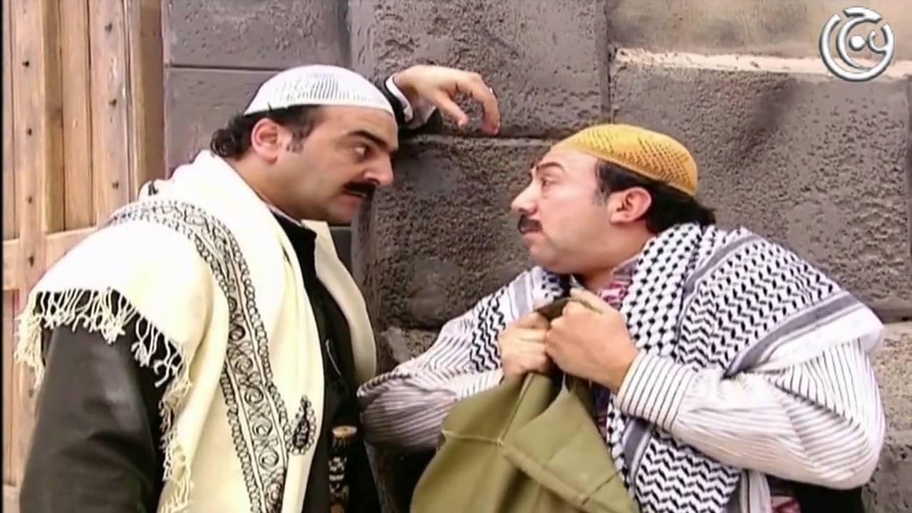 ابو شهاب وابو بدر ومقطع مضحك جدا    من مسلسل باب الحارة الجزء الثاني