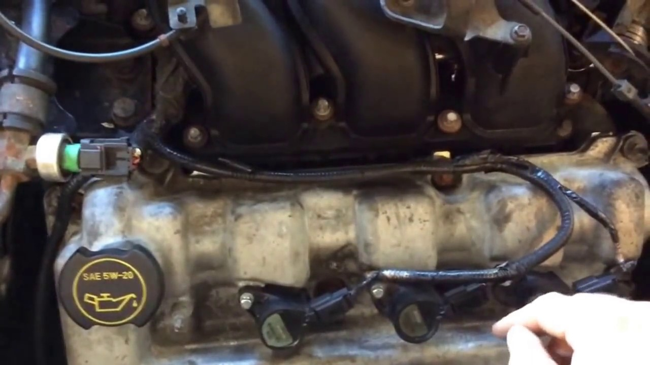 How to 2002 ford escape v6 misfire diagnose coil pack 3 0