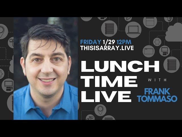 Frank Tommaso - Lunchtime Live