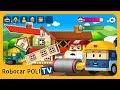 POLI Game   Be a Heavy Equipment team!   for Kids   Robocar POLI