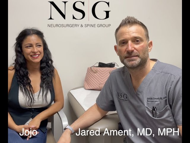 Post-op with BagueraC FDA trial patient