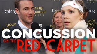 Concussion on the Red Carpet at the Young Hollywood Awards with Beth Hoyt