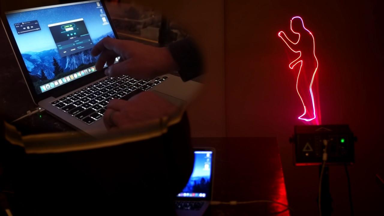 LaserDock Update - MIDI & Custom Visualizers, Hotkeys
