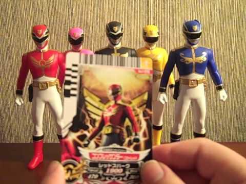 Review: SHS01-05 Goseigers (Tensou Sentai Goseiger)