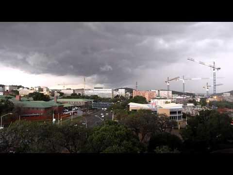 Storm sweeping across Pretoria