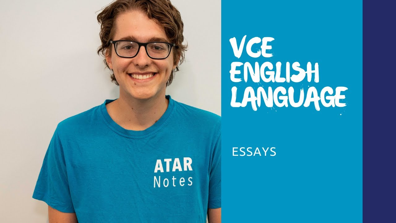 vce english language  essays