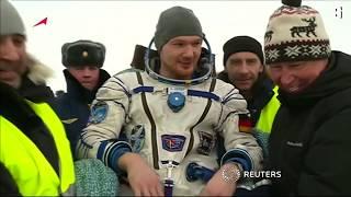 Nach ISS-Einsatz: Alexander Gerst ist wieder gelandet