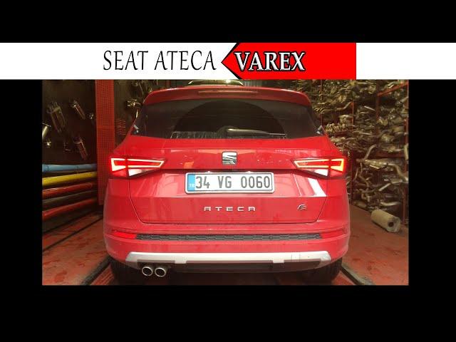 SEAT ATECA 1.4 TSİ 150 HP KUMANDALI VAREX EGZOZ SESİ