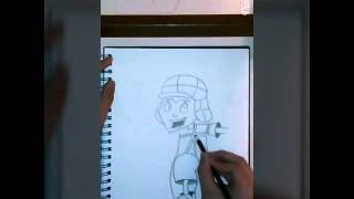El Chavo del Ocho Cartoon(speed drawing)