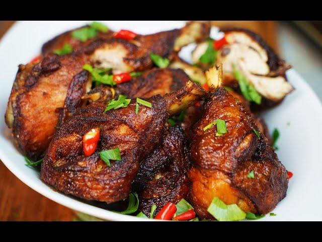 Soy Sauce Marinated Fried Chicken | CaribbeanPot.com