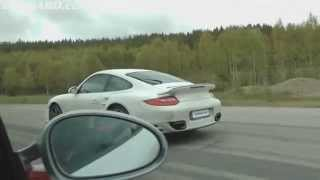 Porsche 911 GT3 RS 4.0 vs 911 Turbo PDK, 500 HP vs 500 HP