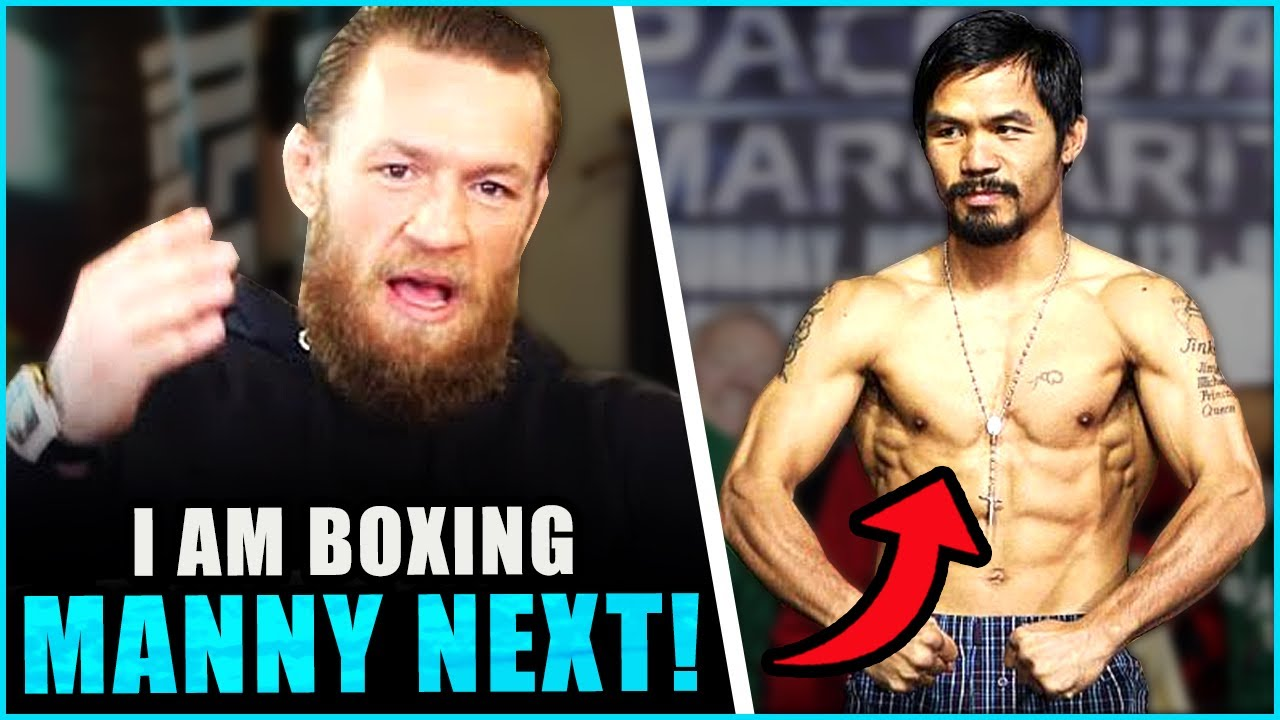 Conor McGregor says he's boxing Manny Pacquiao in the Middle East, he also accepts to fight Diego
