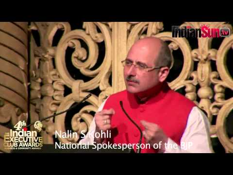 NALIN KOHLI SPEECH: THE TRUTH AND NOTHING BUT THE TRUTH