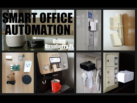 DIY - Smart Office Automation Using Raspberry Pi: 8 Steps (with