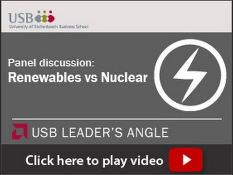 USB Leaders Angle Renewables vs Nuclear