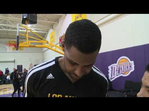 D-FENDERS PROSPECT: Shawne Williams Post-game Interview 02/05/14