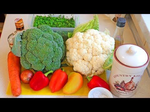 САМЫЙ ВКУСНЫЙ ОСЕННИЙ САЛАТ!!! Салат из Цветной Капусты и Брокколи