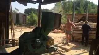 видео дробилка отходов