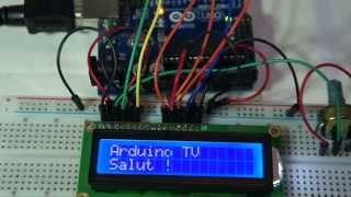 Tuto n°5 v2 : Commande afficheur 16x2 LCD