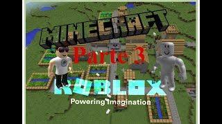 Costruire un villaggio Minecraft a Roblox-Minecraft Tycoon (PARTE 3)
