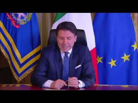 """L'Italia """"chiude"""" per il coronavirus Conte annuncia la chiusura di tutte le attività non essenziali"""