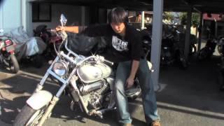 V-Twin Magna 250 参考動画 アメリカンバイクの取り回し方