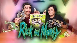 Rick & Morty Garage Set   Build with Fam! 💯