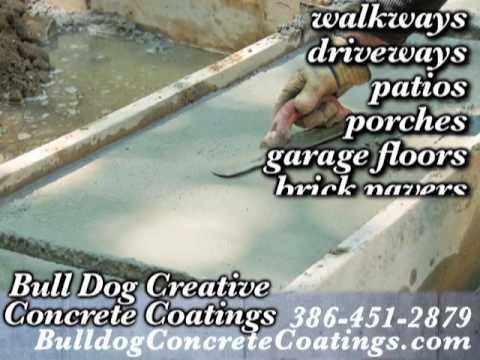Bull Dog Creative Concrete Coatings, Ormond Beach, FL