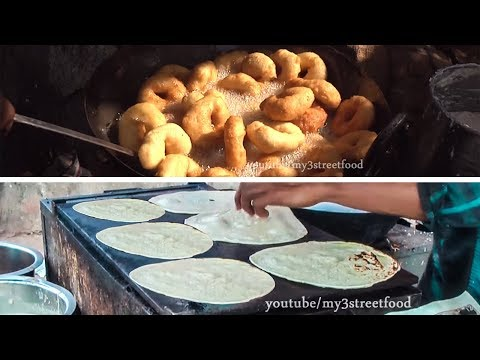 TOP 10 BREAKFAST RECIPES |  INDIAN STREET FOODS