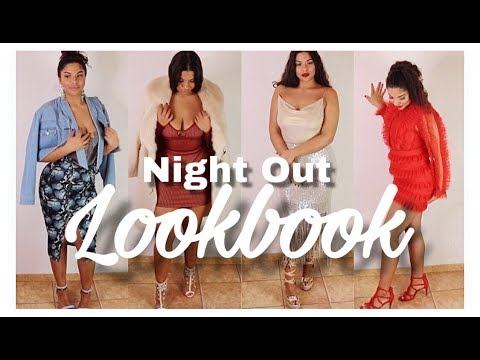[VIDEO] - CURVY NIGHT OUT OUTFITS/LOOKBOOK 2019 8