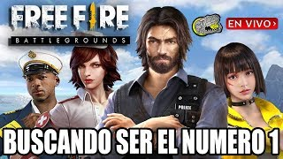 🔴 Free Fire - Battlegrounds - Buscando ser el Numero 1 - Armando Equipos para Ganar