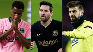Ansu Fati suffers injury setback, Messi 'tired' of PSG transfer rumours, Pique hits out at Bartomeu!