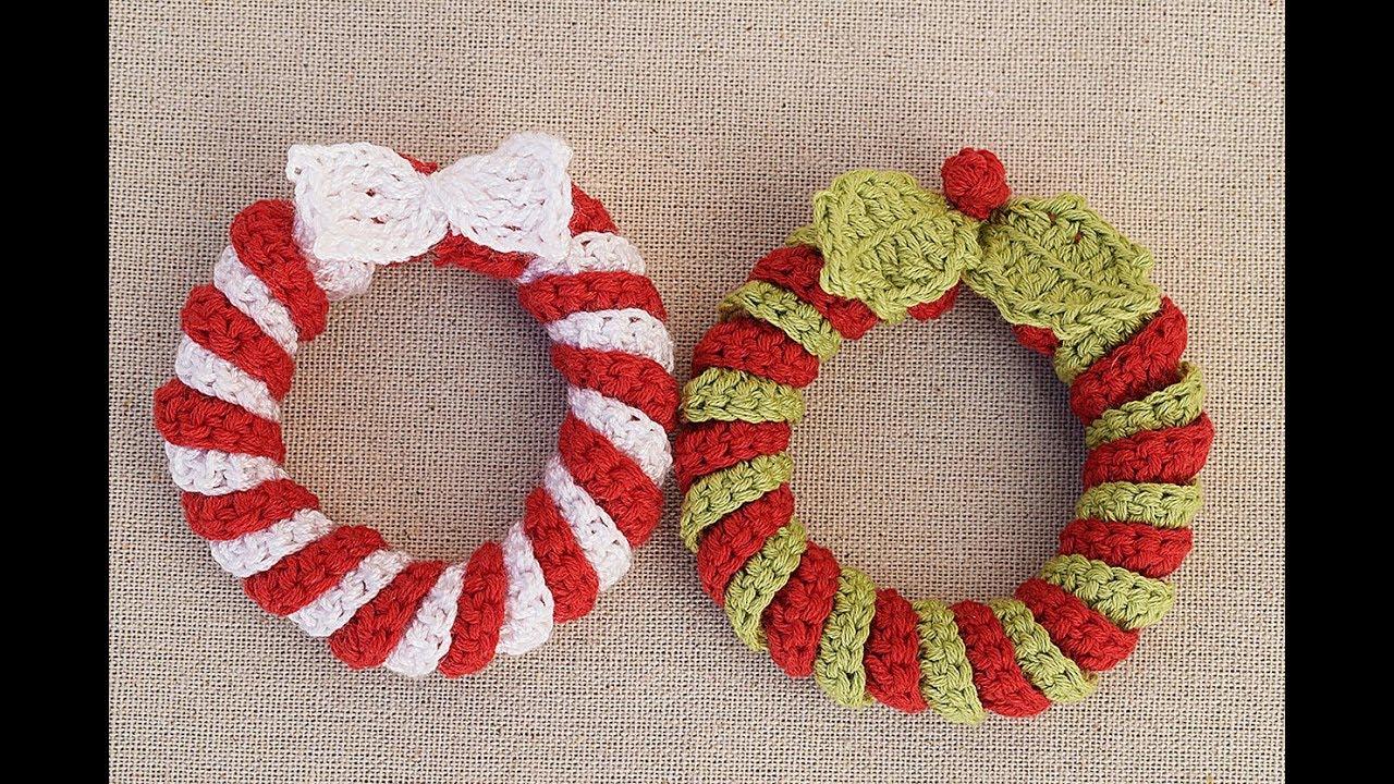 Corona Navidad a crochet | Coronas de navidad, Navidad a crochet ... | 720x1280