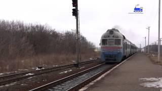 Дизель-поїзд Умань-Черкаси / Diesel-train Uman-Cherkasy