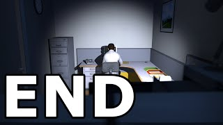 The Stanley Parable Walkthrough Ending - No Commentary Playthrough (PC)
