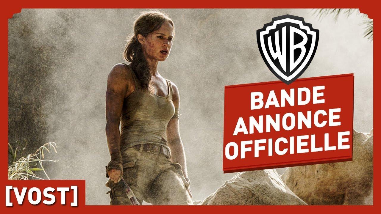 Tomb Raider - Bande Annonce Officielle (VOST) - Alicia Vikander