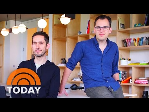 Instagram Founders On Success Of Their App: 'Beyond Our Wildest Dreams'   TODAY