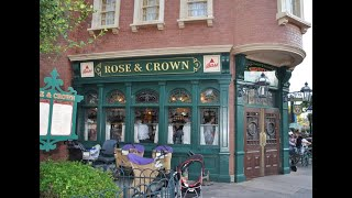 Rose and Crown Fireworks Dinner Party at EPCOT
