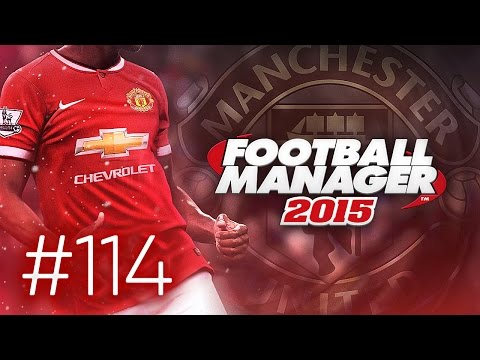 Manchester United Career Mode #114 - Football Manager 2015 Let's Play - Real Madrid 1st Leg