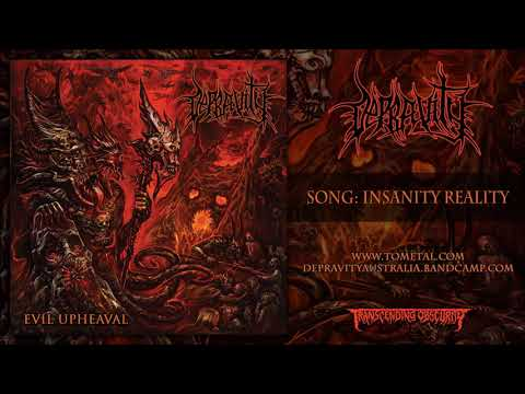 Depravity (Australia) - Insanity Reality (Death Metal) Transcending Obscurity Records Mp3