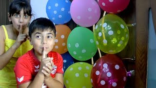 Balloons Colors Song | Balloons Door | Nursery Rhymes for Kids By Guka Family Show