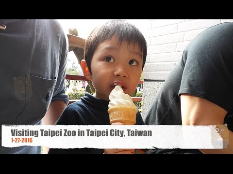 Visiting Taipei Zoo in Taipei City, Taiwan