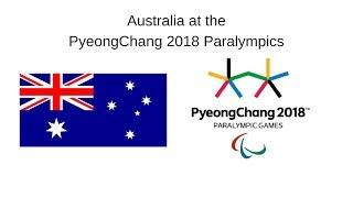 Australia at the PyeongChang 2018 Winter Paralympic Games