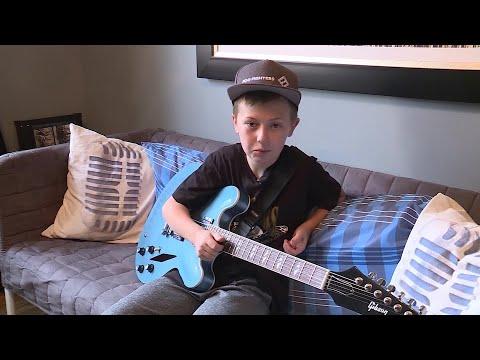 Kid Steals Spotlight At Foo Fighters' Concert in Kansas City
