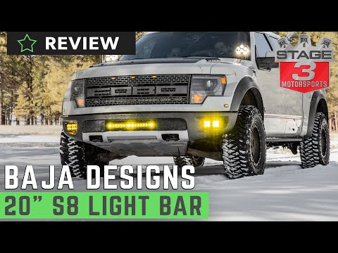 Baja Designs 20 Inch S8 Off Road LED Light Review